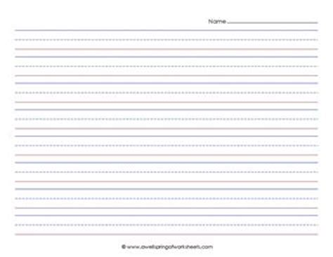 landscape writing paper primary lined paper landscape a wellspring of worksheets