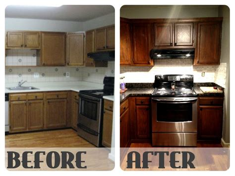 best way to stain kitchen cabinets cabinet restain oak granite countertop paint how to stain kitchen cabinets