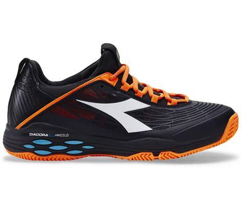 Diadora Vertu Black Size 43 diadora speed blushield fly clay s tennis shoes