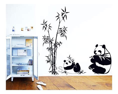 Wall Sticker Wall Stiker Wallsticker Dinding 381 Panda Jerapah jual wallpaper wallpaper sticker wall sticker wall