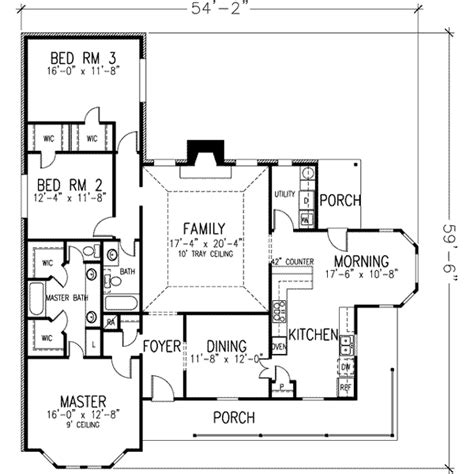 house plan 1978 farmhouse style house plan 3 beds 2 baths 1978 sq ft