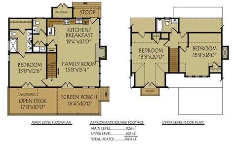 small lake cottage floor plans small bungalow cottage house plan with porches and photos