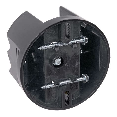 ceiling fan electrical box cover shop carlon plastic ceiling electrical box at lowes com