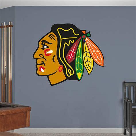 Blackhawks Fathead Giveaway - chicago blackhawks logo wall decal shop fathead 174 for chicago blackhawks decor