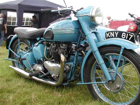 Triumph Motorrad 1950 by 1950 Triumph Thunderbird 6t Outfit Classic Motorcycle Pictures