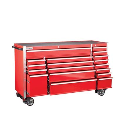 harbor freight garage storage cabinets 72 in 18 glossy red industrial roller cabinet