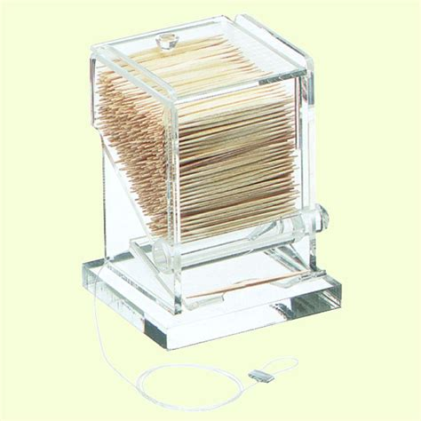toothpick dispenser carlisle acrylic clear toothpick dispenser tp10007 the