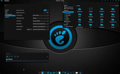 gnome themes free download install the eye of gnome blue gtk3 2 theme on ubuntu linux