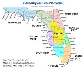florida coastal map maps counties cities florida go fishing store
