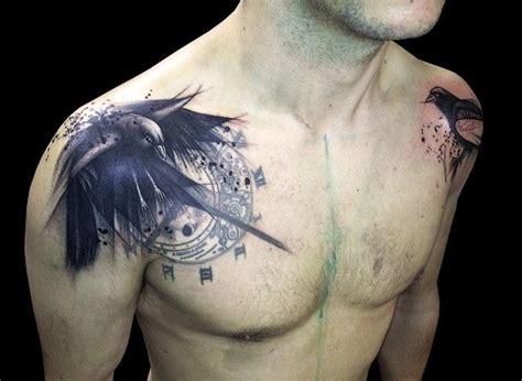 die besten 17 ideen zu mann schulter tattoos auf pinterest