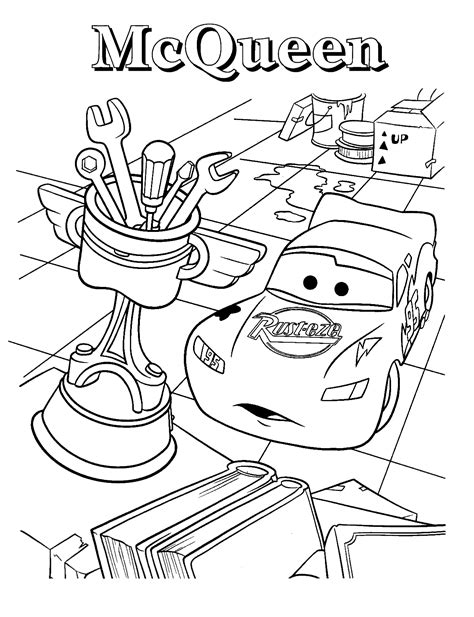 Free Printable Lightning Mcqueen Coloring Pages For Kids Colouring Pages Lightning Mcqueen