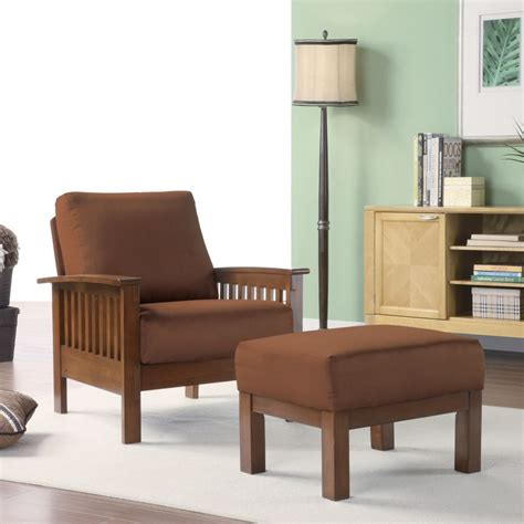 Mission Style Living Room Chair Marlin Mission Inspired Arm Chair Tradition Styles At Sears
