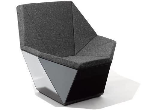 prism chair and ottoman washington prism lounge chair hivemodern com