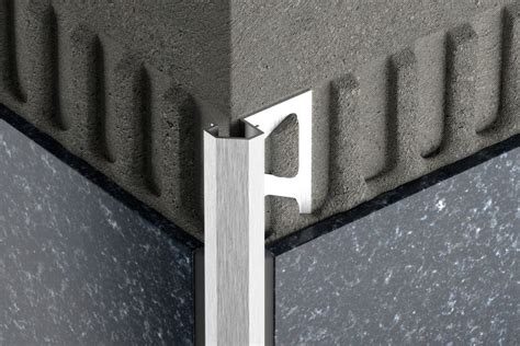 Edge Of Outside by Schluter 174 Diadec Edging Outside Wall Corners For