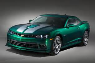 2015 chevrolet camaro ss special edition front three quarter view