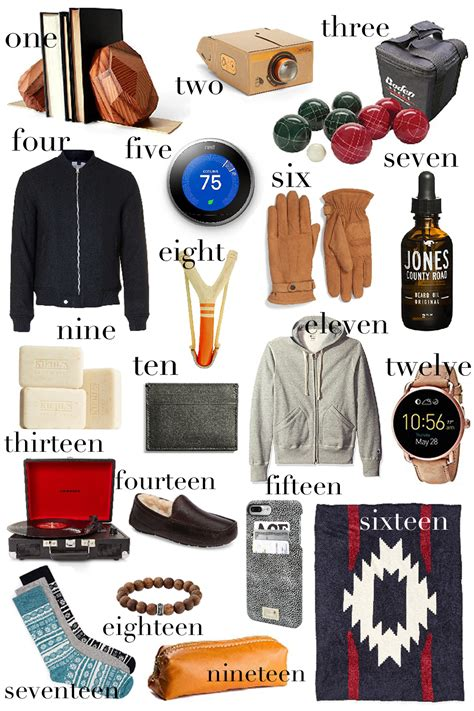 gift guide for him 2016 one brass fox