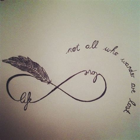 infinity quote tattoo infinity quotes for canvas quotesgram