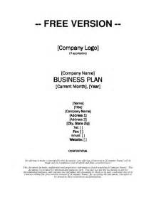 Business Plan Free Templates Growthink Business Plan Template Free Download
