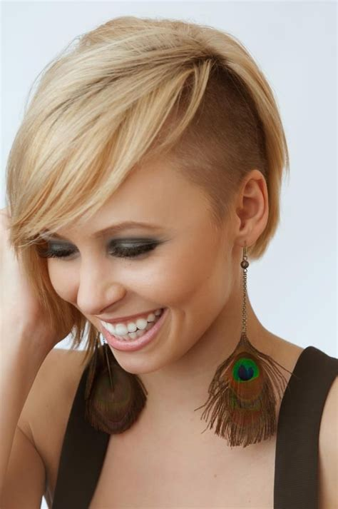 hairstyles with wispy neck fringes disconnected bob wispy fringe with a tightly tapered side