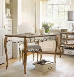 mirrored desk furniture furniture home office 48 1 4 inch mirrored writing