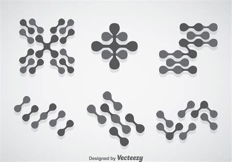 nanotechology vector sets   vector art