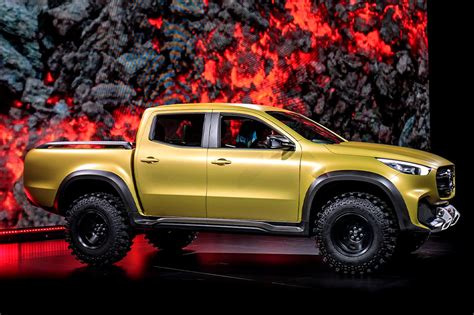 mercedes pickup 2017 mercedes benz x class pickup truck unveiled to launch in