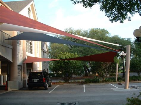 shade sails awnings canopies parking shade parking lot shade sails shade structures