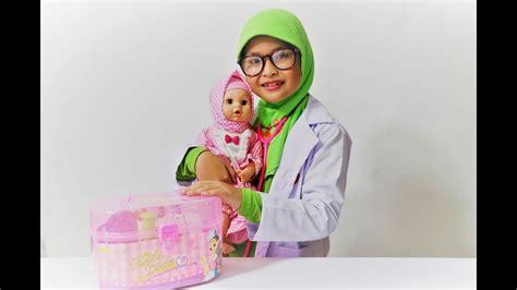 Peralatan Dokter Anak Hk Mainan Kado Edukasi Anak Murah mainan dokter dokteran untuk anak anak setelan bayi
