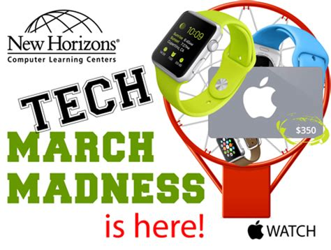 tech march madness is here