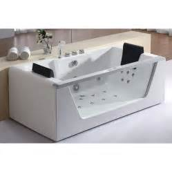 Bathroom Whirlpool Tubs Eago Am196 Corner Whirlpool Bathtub Atg Stores