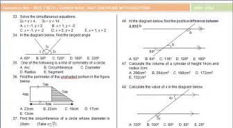 original junior waec jss 3 past question and answer