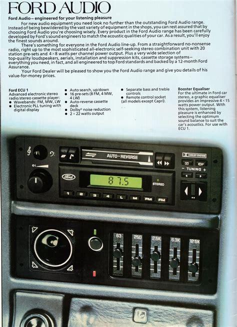 ford accessories brochure 1985 ford accessories brochure scan autoshite autoshite