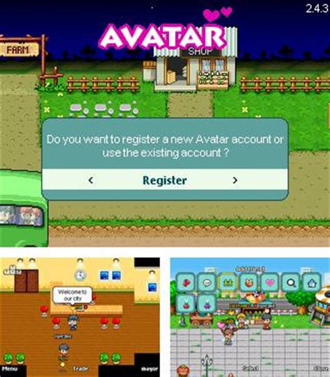 game avatar online mod java mob org