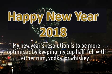 new year year 2 new year 2018 statuses to wish with jokes