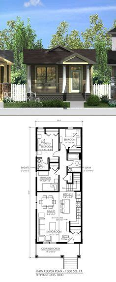 Ditch Door House Floor Plan - 2 bedroom house plans 1000 square home plans