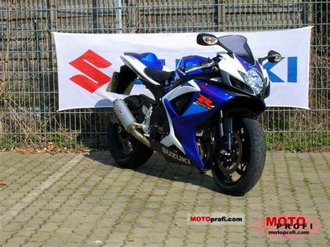 2007 Suzuki Gsxr750 Suzuki Gsx R 750 2007 Specs And Photos