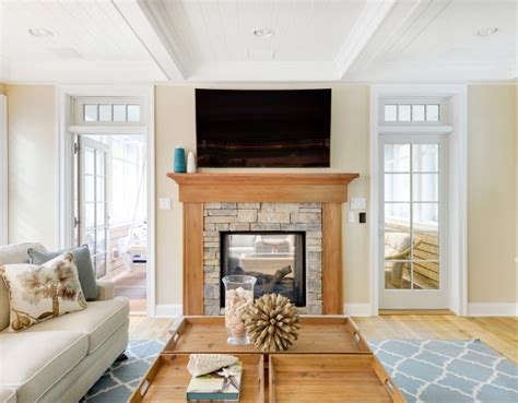 Beach Cottage with Neutral Coastal Interiors   Home Bunch