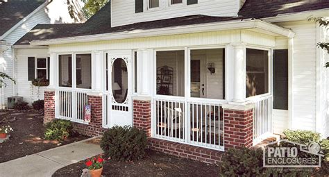 How To Inclose A Patio by How To Enclose A Patio Porch Or Deck