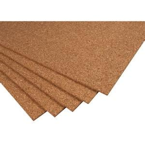 qep 2 ft x 3 ft x 1 4 in cork underlayment sheet 30 sq