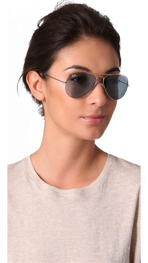 Kacamata Avistor Rayban M 25 Sky Blue ban aviator sunglasses in blue lyst