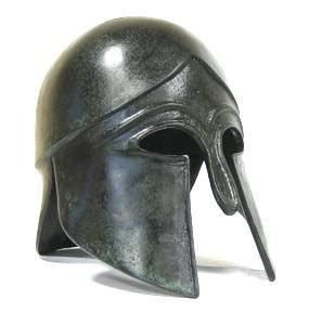 ancient helmet template mythic greece templates