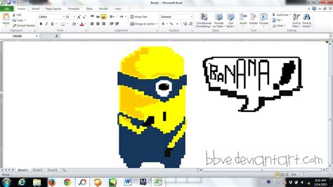 how to draw doodle using excel excel drawing by bbve on deviantart