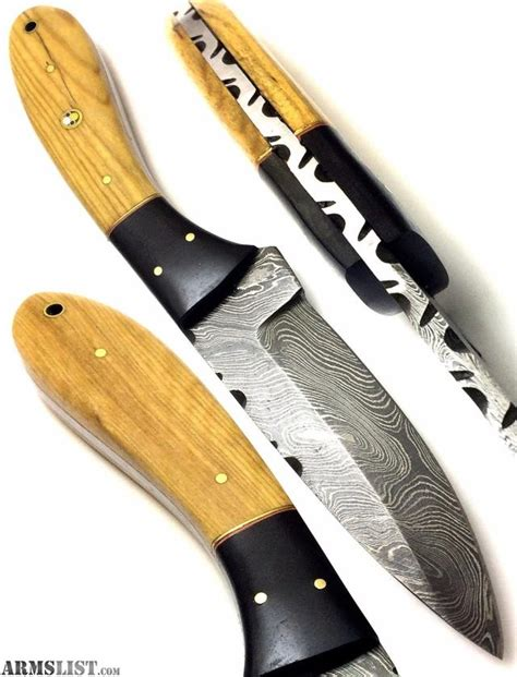 forged knives for sale armslist for sale damascus forged custom knife