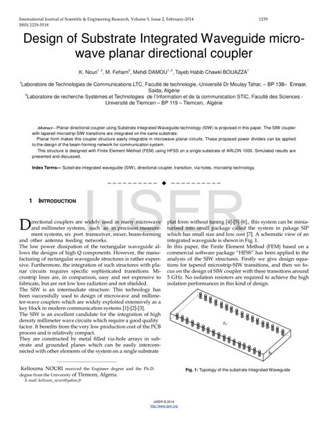 dielectric waveguide microwave integrated circuits planar diplexer for microwave integrated circuits 28 images rollover to zoom a planar magic