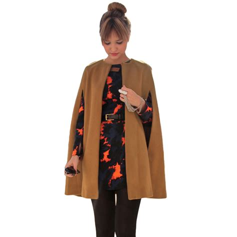 new year wool jacket popular camel poncho buy cheap camel poncho lots from