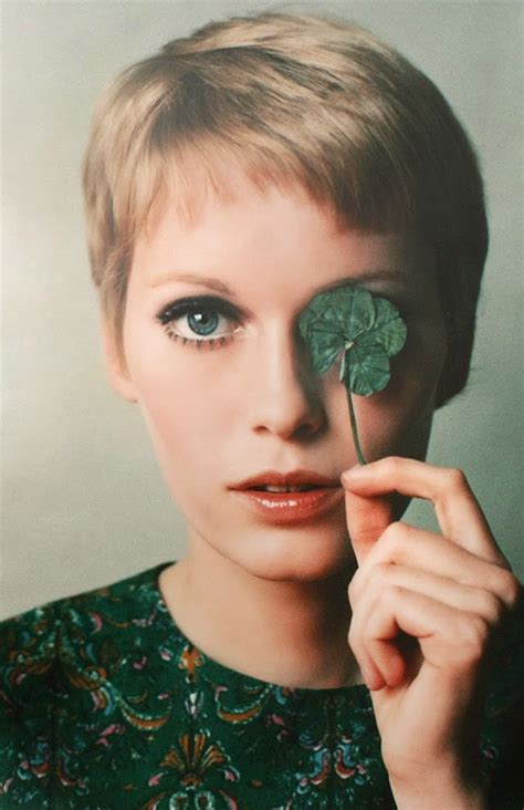 mia farrow haircut 30 beautiful portraits of mia farrow with pixie haircut in