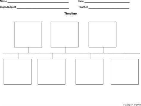 blank timeline printable blank timeline templates for