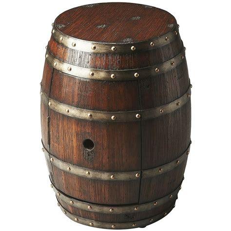 whiskey barrel side table whiskey barrel side table