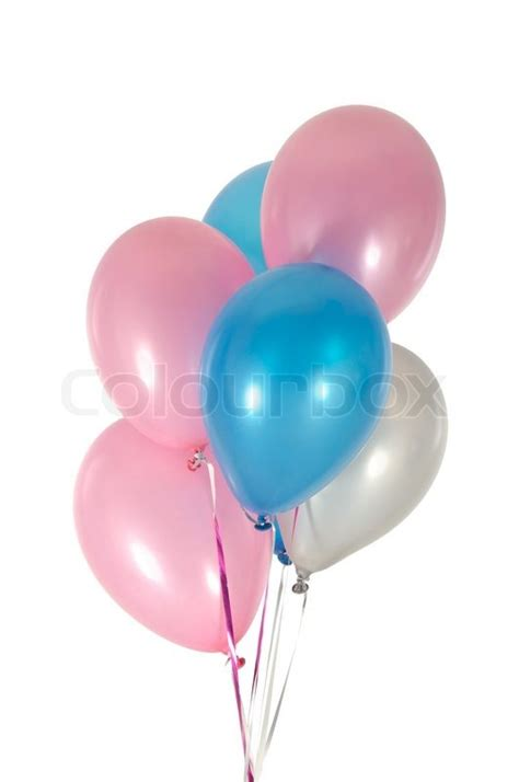 Balloon String - balloons in strings stock photo colourbox