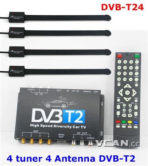 Tv Digital Dvb T2 dvb t24 car hdtv dvb t2 hd four tuner car dvb t2